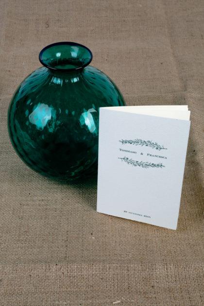 libretto cerimonia collezione Vischio