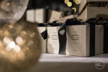 confezione bomboniere collezione Vischio