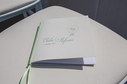 Libretto cerimonia, matrimonio Elida e Stefano