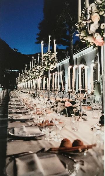 tavolo imperiale matrimonio Viviana e Luca