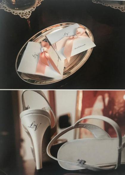 collage dettagli matrimonio Viviana e Luca