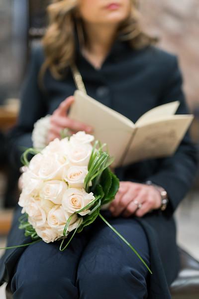 Bouquet, matrimonio Sharon e Lorenzo