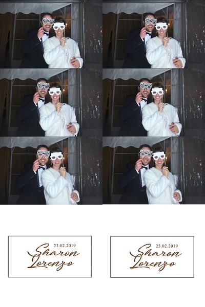 Photo booth, matrimonio Sharon e Lorenzo