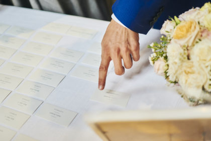 Tableau place cards, matrimonio Ambra e Lorenzo