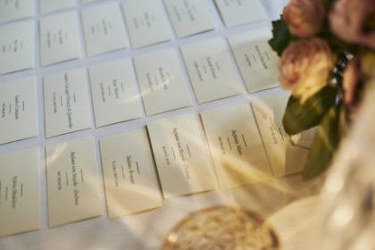 Place cards, matrimonio Ambra e Lorenzo